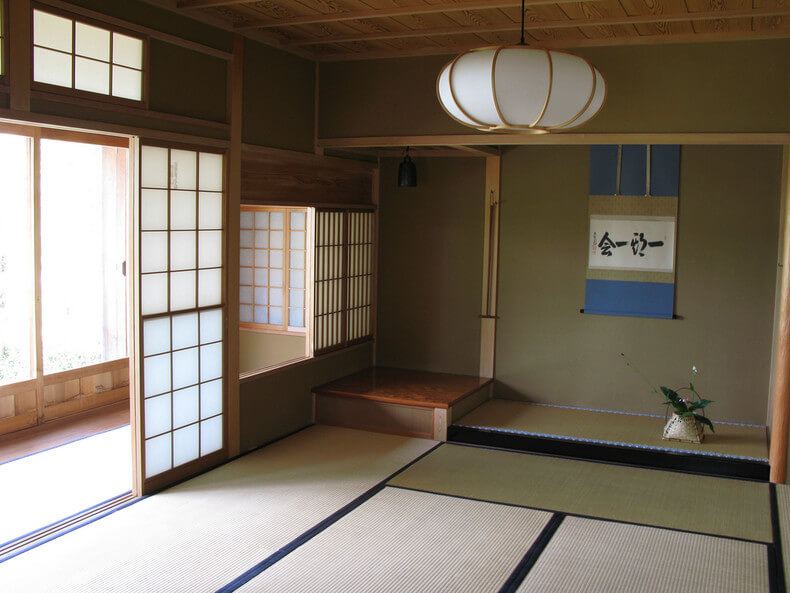 Traditional Japanese House Tokonoma
