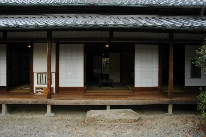 Traditional Japanese House engawa